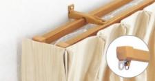 リターン縫製のカーテン