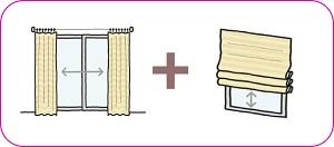 シェードとカーテンの画像1