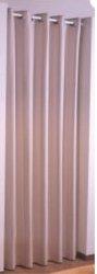 アイレットプリーツカーテンの全体像
